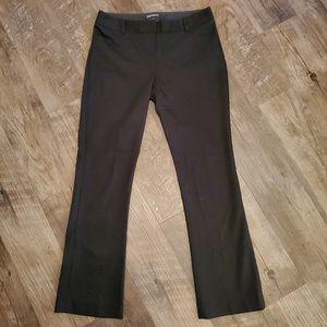 Express slacks, black straight leg size: 4s